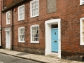 old brick buildings, Chichester